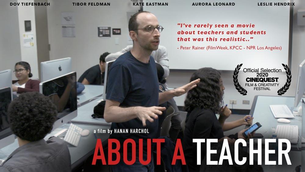 About a Teacher poster