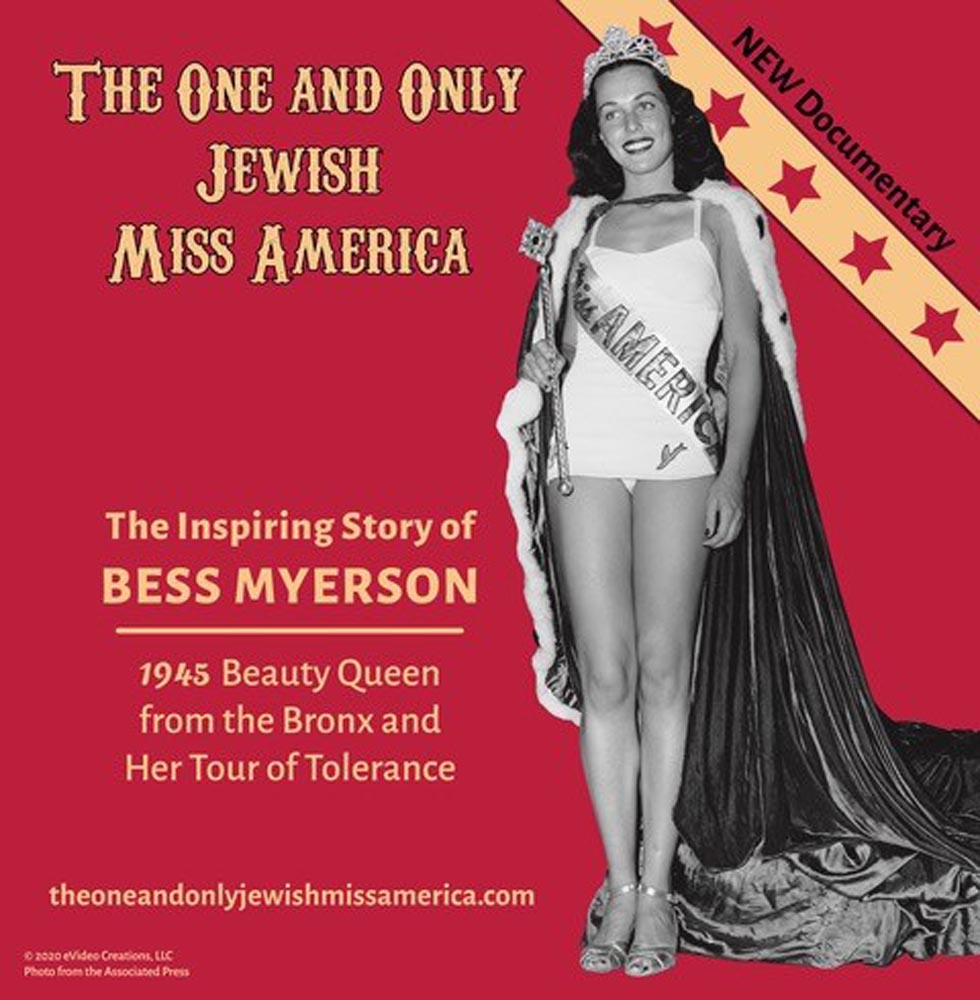 The One and Only Jewish Miss America poster
