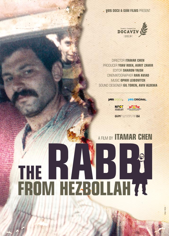 The Rabbi from Hezbollah poster